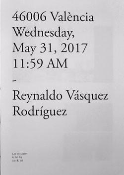 46006 València Wednesday, May 31, 2017 11:59 AM
