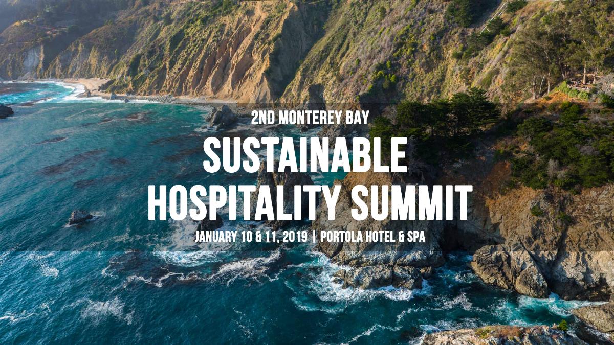 Monterey Bay Sustainable Hospitality Summit