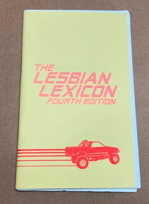 The Lesbian Lexicon