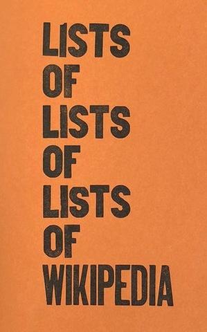 Lists of Lists of Lists of Wikipedia