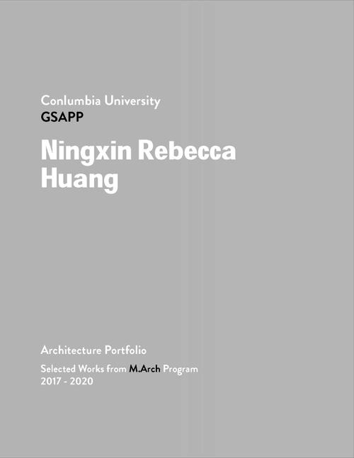 ARCH HuangNingxin SP20 Portfolio.pdf_P1_cover.jpg