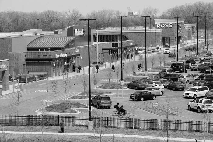 FIG. 4: New retail at the 180-acre Pullman Park site has combated the food desert in Pullman. Image courtesy of Marc PoKempner.