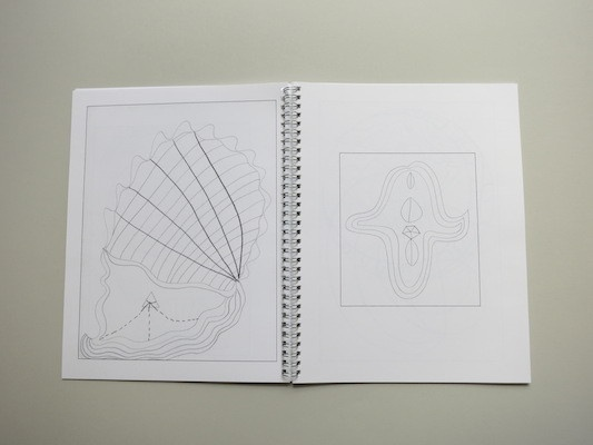 Drawing Hilma Af Klint : A  Coloring Book Influenced by the Work of Hilma Af Klint thumbnail 8