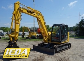Used 2018 Kobelco SK85CS-3E For Sale