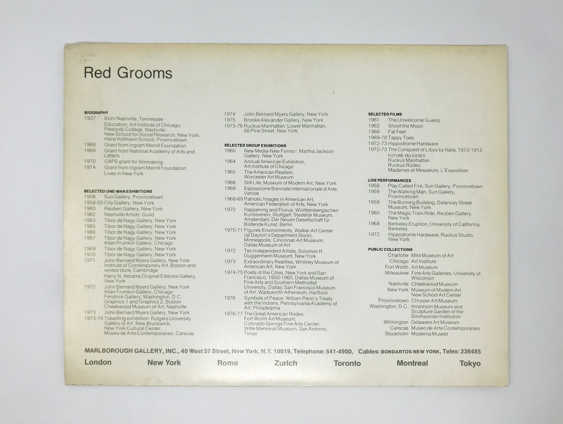 Ruckus Manhattan Parts I & II Exhibition Catalog thumbnail 3