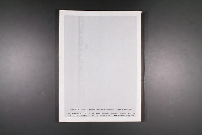 Bootleg 4 : Song Drawings / Paintings 1996 - 2005 thumbnail 5