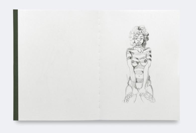 Somaya Critchlow: Drawings thumbnail 3