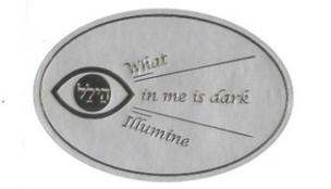 What in Me is Dark Illumine Sticker