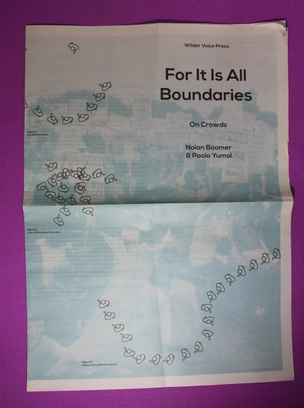 For It Is All Boundaries