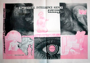 Talk Is Cheap The Central Intelligence Agency Destroys Poster