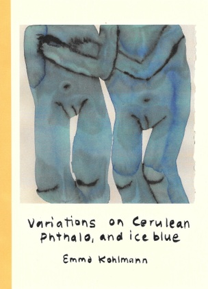 Variations on Cerulean Phthalo, and ice blue
