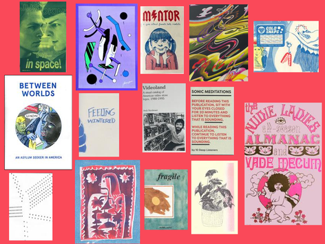 2018 Gift Guide- Zines and Risograph