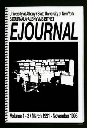 EJOURNAL Vol. 1-3