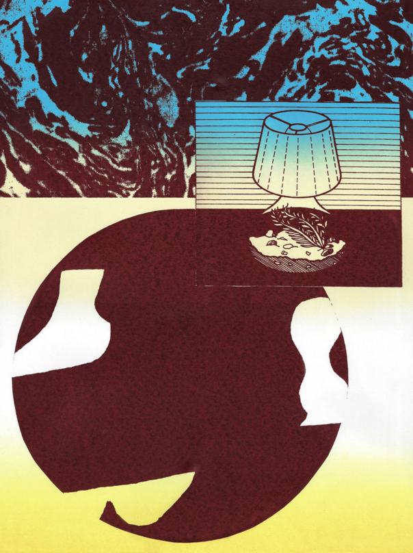 Lamp World [Screen Print]