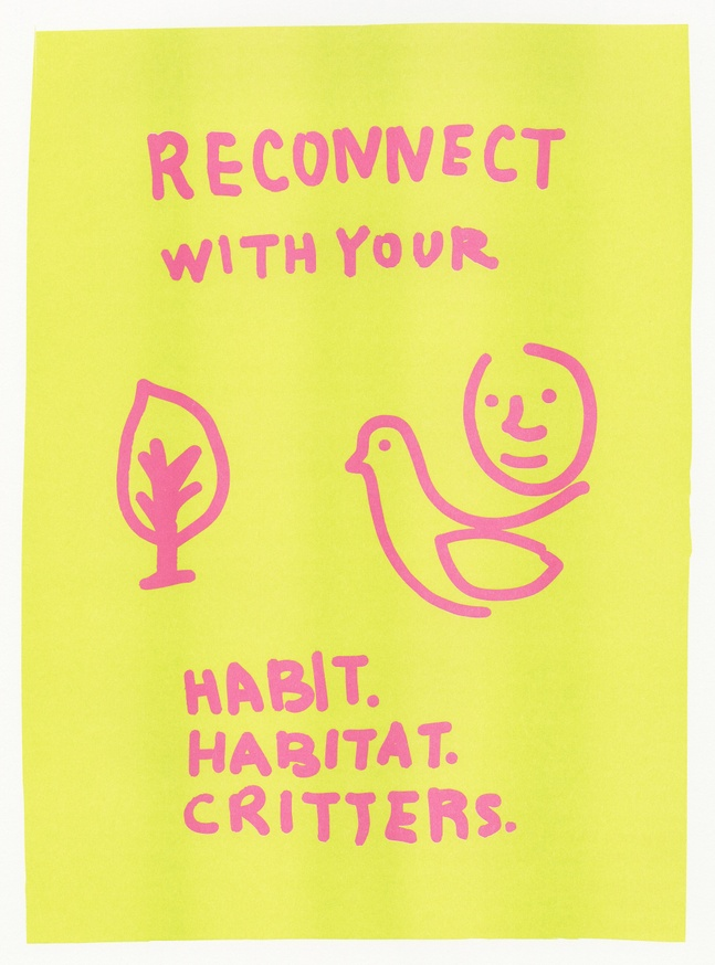 Reconnect with your Habit, Habitat and Critters