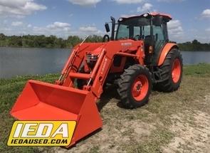 Used 2017 Kubota M5-111 For Sale