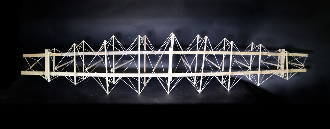 Bridge design by Jiajian Min and Jeremy Leonard.
