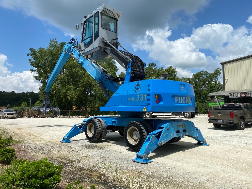 Used 2008 Fuchs MHL331D For Sale