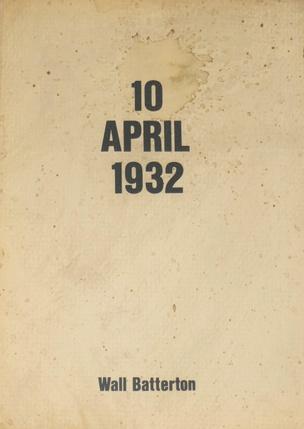 10 April 1932