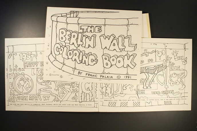 Berlin Wall Coloring Book thumbnail 2