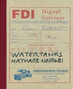 Watertanks Mathare Nairobi