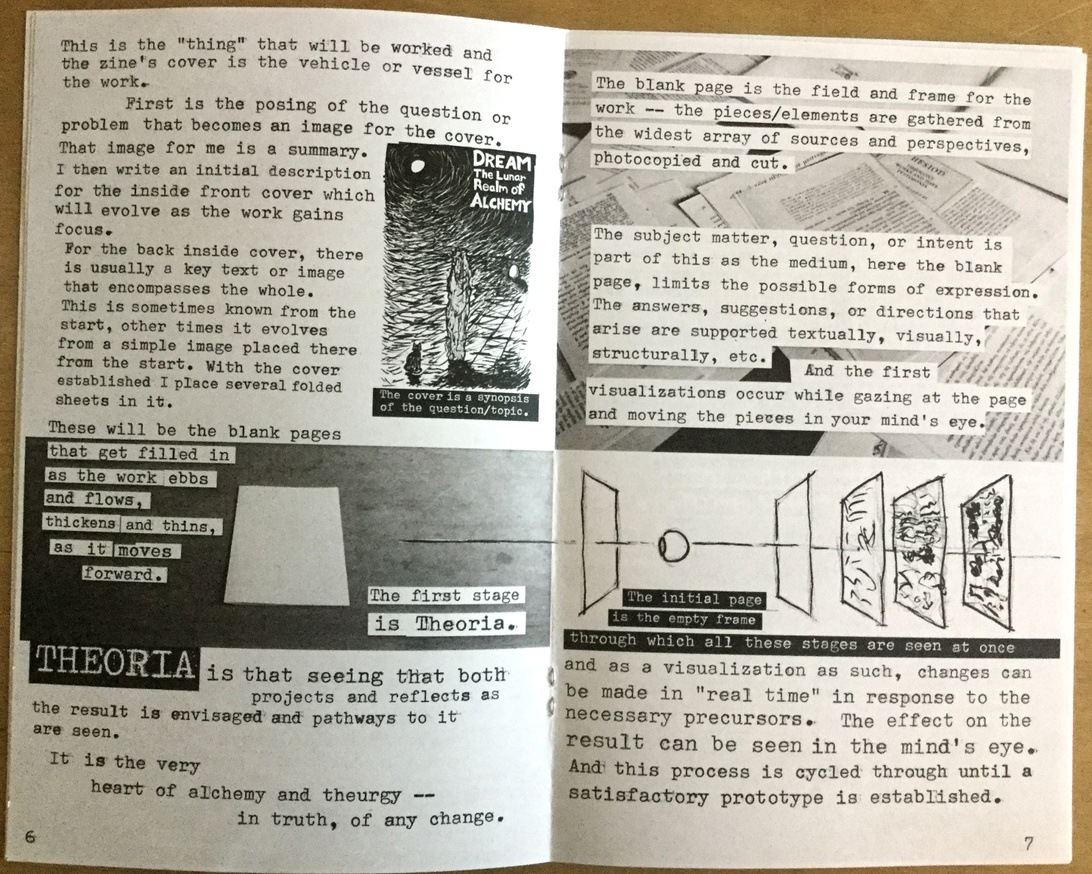 On The Mystic, Magick, Talismanic, Alchemical Practice of Zine Making thumbnail 4