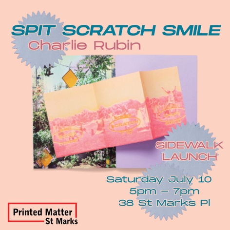 SPIT SCRATCH SMILE Sidewalk Book Launch