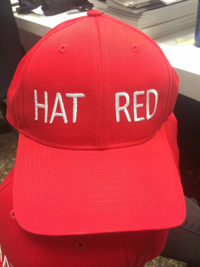 HAT RED Cap
