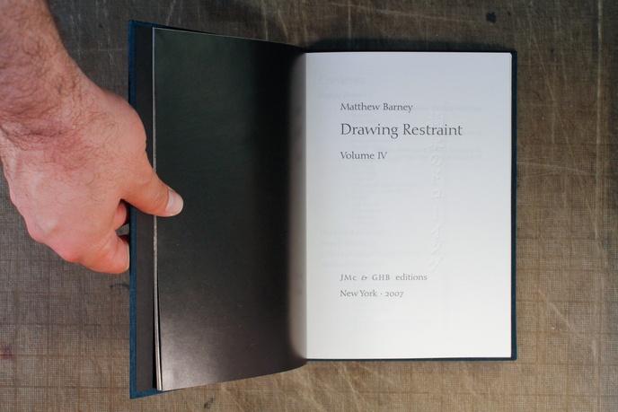 Drawing Restraint Vol IV