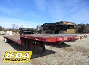 Used 1995 LUFKIN PM-DF MODEL SERIES SPREAD AXLE DROP DECK For Sale
