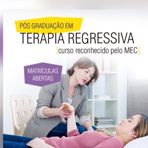 Curso de Pos-Graduação Lato Sensu de Terapia Regressiva- registrado no MEC