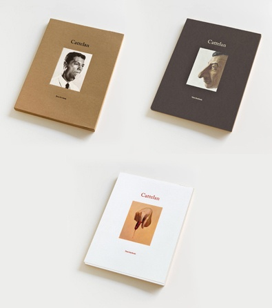 New publications by Maurizio Cattelan from Three Star Books