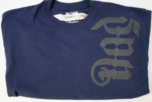 Fred Martinez T-Shirt in Navy [Large]