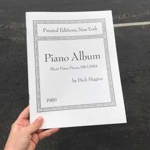 Piano Album: Short Piano Pieces,1962-1984