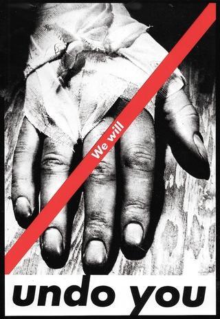 Untitled, 1982 (We Will Undo You) Postcard