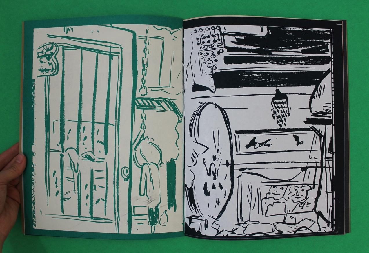 Tunde Adebimpe : Tour Sketch Journos, 2003-2014 thumbnail 4