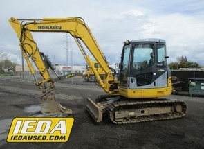 Used 2008 Komatsu PC78MR-6 For Sale
