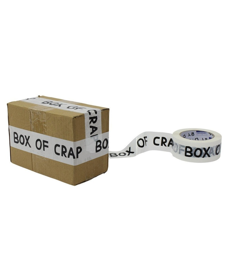 Box of Crap Packing Tape thumbnail 2