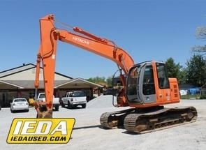 Used 2008 Hitachi ZX135US For Sale
