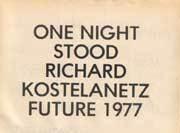 One Night Stood