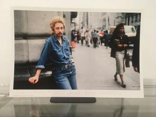 Linda Montano as Bob Dylan, 1989/2014