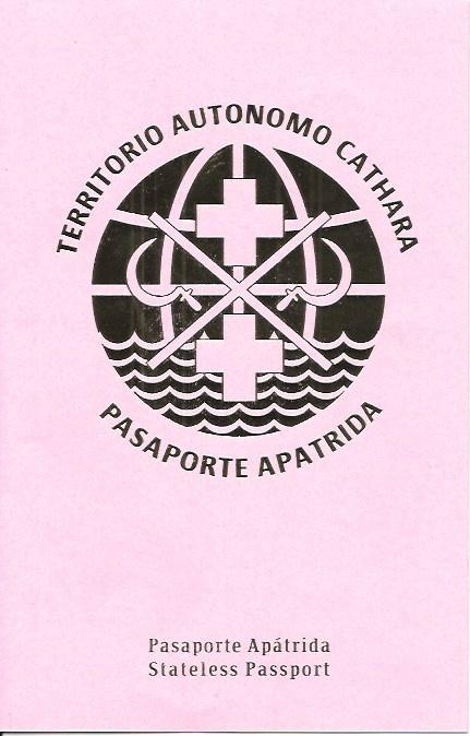 Cathara Autonomous Territory Stateless Passport (Spanish)