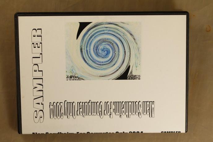 Alan Sondheim : For Computer Only 2004 : Sampler