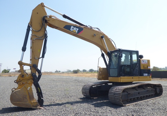 Used 2013 Caterpillar 328D LCR For Sale