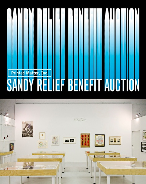 Sandy Relief Benefit Auction and Exhibition