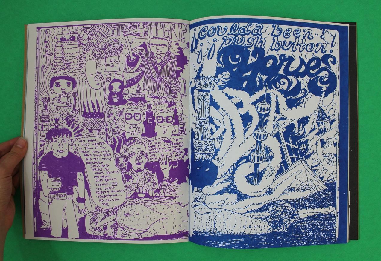 Tunde Adebimpe : Tour Sketch Journos, 2003-2014 thumbnail 5