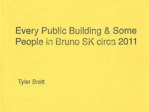 Every Public Building & Some People in Bruno SK circa 2011