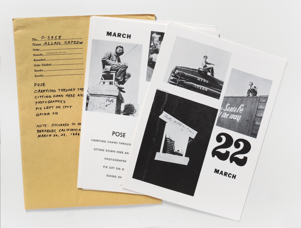 Multiples, Inc.: Items from the Artists & photographs Box, 1970 thumbnail 7