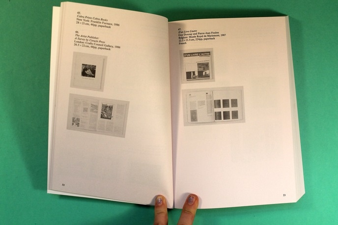 The Book on Books on Artists Books thumbnail 7
