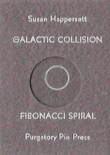 Galactic Collision : Fibonacci Spiral
